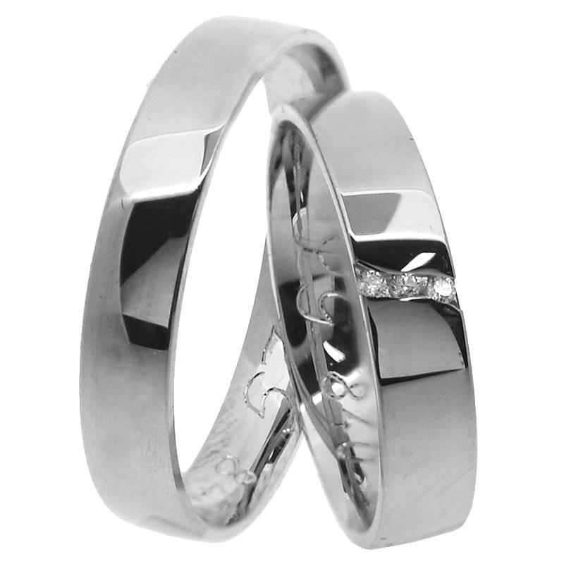 Decorum Silver Stribrne Snubni Prsteny Prsten Cz