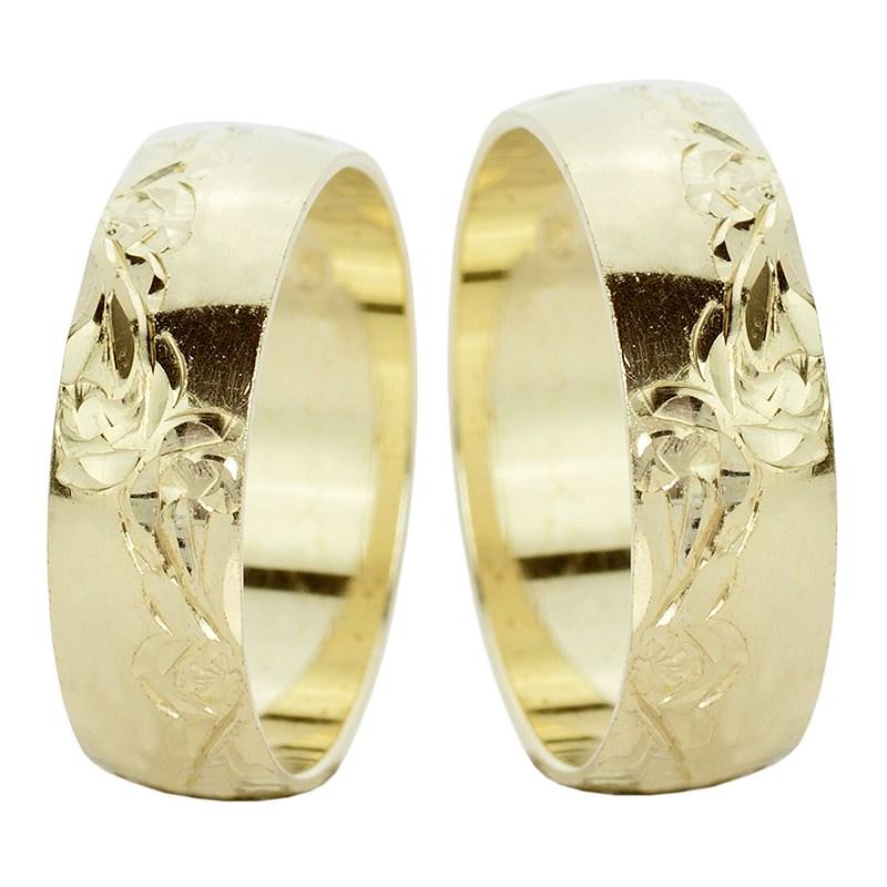 Botanica Snubni Prsteny Ze Zluteho Zlata Prsten Cz