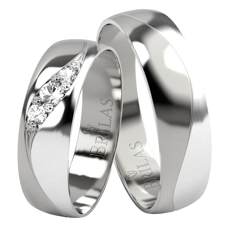 Laeca Silver Stribrne Snubni Prsteny Prsten Cz
